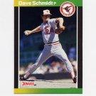 1989 Donruss Baseball #215 Dave Schmidt - Baltimore Orioles