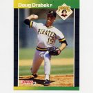 1989 Donruss Baseball #211 Doug Drabek - Pittsburgh Pirates