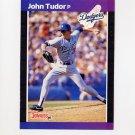 1989 Donruss Baseball #195 John Tudor - Los Angeles Dodgers
