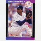 1989 Donruss Baseball #192 John Candelaria - New York Yankees