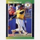 1989 Donruss Baseball #185 Stan Javier - Oakland A's