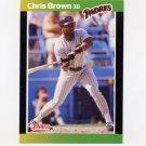 1989 Donruss Baseball #183 Chris Brown - San Diego Padres