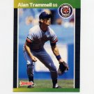 1989 Donruss Baseball #180 Alan Trammell - Detroit Tigers