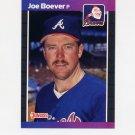 1989 Donruss Baseball #168 Joe Boever - Atlanta Braves