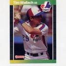 1989 Donruss Baseball #156 Tim Wallach - Montreal Expos