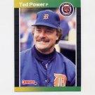 1989 Donruss Baseball #153 Ted Power - Detroit Tigers