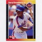 1989 Donruss Baseball #147 Darryl Strawberry - New York Mets