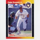 1989 Donruss Baseball #146 Dale Sveum - Milwaukee Brewers