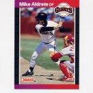1989 Donruss Baseball #140 Mike Aldrete - San Francisco Giants