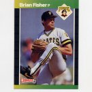 1989 Donruss Baseball #126 Brian Fisher - Pittsburgh Pirates