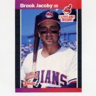 1989 Donruss Baseball #114 Brook Jacoby - Cleveland Indians