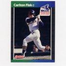 1989 Donruss Baseball #101 Carlton Fisk - Chicago White Sox