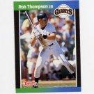1989 Donruss Baseball #098 Robby Thompson - San Francisco Giants