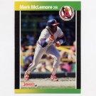 1989 Donruss Baseball #094 Mark McLemore - California Angels