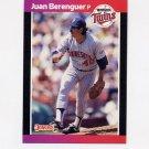 1989 Donruss Baseball #081 Juan Berenguer - Minnesota Twins