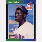 1989 Donruss Baseball #073 Mel Hall - Cleveland Indians