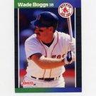1989 Donruss Baseball #068 Wade Boggs - Boston Red Sox