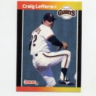 1989 Donruss Baseball #059 Craig Lefferts - San Francisco Giants