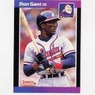 1989 Donruss Baseball #050 Ron Gant - Atlanta Braves