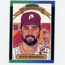 1989 Donruss Baseball #024 Steve Bedrosian Diamond Kings - Philadelphia Phillies