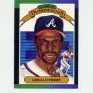 1989 Donruss Baseball #022 Gerald Perry Diamond Kings - Atlanta Braves