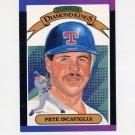 1989 Donruss Baseball #003 Pete Incaviglia Diamond Kings - Texas Rangers