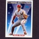 1993 Topps Baseball #818 Brad Brink - Philadelphia Phillies