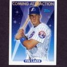 1993 Topps Baseball #816 Tim Laker RC - Montreal Expos