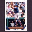 1993 Topps Baseball #788 Mackey Sasser - New York Mets