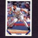 1993 Topps Baseball #756 Mike Henneman - Detroit Tigers