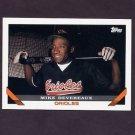 1993 Topps Baseball #741 Mike Devereaux - Baltimore Orioles