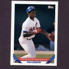 1993 Topps Baseball #731 Donald Harris - Texas Rangers