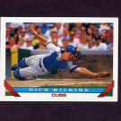 1993 Topps Baseball #721 Rick Wilkins - Chicago Cubs