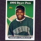 1993 Topps Baseball #706 Sherard Clinkscales RC - Kansas City Royals