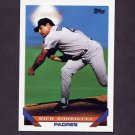 1993 Topps Baseball #693 Rich Rodriguez - San Diego Padres