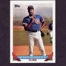 1993 Topps Baseball #657 Mike Harkey - Chicago Cubs