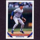 1993 Topps Baseball #651 Rafael Bournigal - Los Angeles Dodgers