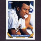 1993 Topps Baseball #556 Darryl Hamilton - Milwaukee Brewers