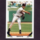 1993 Topps Baseball #542 Royce Clayton - San Francisco Giants
