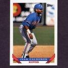 1993 Topps Baseball #540 Ivan Calderon - Montreal Expos