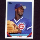 1993 Topps Baseball #487 Jessie Hollins - Chicago Cubs
