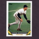1993 Topps Baseball #484 John Wehner - Pittsburgh Pirates