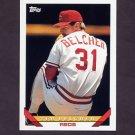 1993 Topps Baseball #382 Tim Belcher - Cincinnati Reds