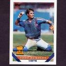 1993 Topps Baseball #380 Todd Hundley - New York Mets