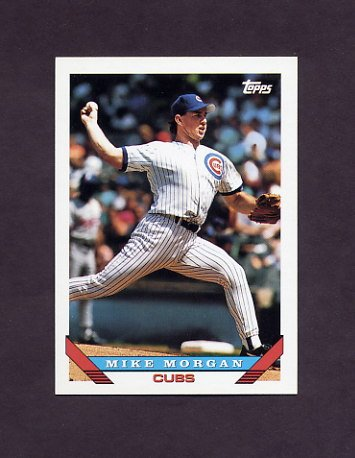 1993 Topps Baseball #373 Mike Morgan - Chicago Cubs