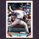 1993 Topps Baseball #373 Mike Morgan - Chicago Cubs