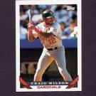 1993 Topps Baseball #366 Craig Wilson - St. Louis Cardinals