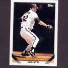 1993 Topps Baseball #364 Trevor Wilson - San Francisco Giants