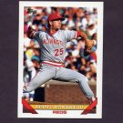 1993 Topps Baseball #361 Scott Bankhead - Cincinnati Reds
