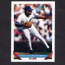 1993 Topps Baseball #346 Chuck McElroy - Chicago Cubs